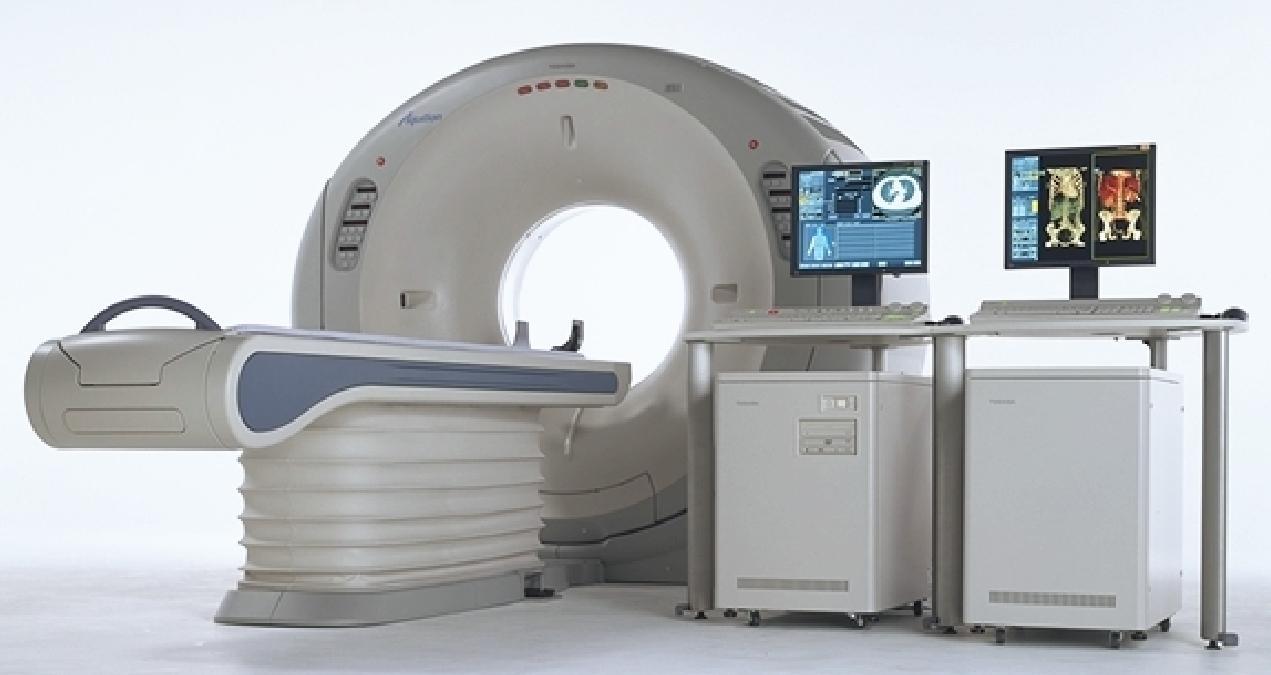CT本体の画像
